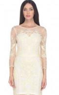 Платье для полных молодых девушек до колен и открытые плечи, платье jan steen, Назия