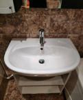 Раковина в ванную комнату б/у. Тумба без дверей. С, Всеволожск
