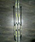 Беговые лыжи+палки