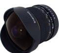 Продам объектив Рыбий глаз samyang 8 mm для Sony A, Зеленогорск
