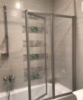 Шторка для ванной стеклянная