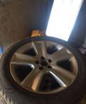 Комплект колес, диски субару b13 5/100 r17, renault sandero stepway 2015 колеса
