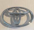 Значок Toyota, накладка двери ваз 2107