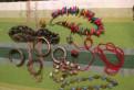 Бусы, браслеты, колечки, мешочек с бижутерией, Санкт-Петербург