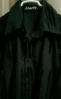 Мужской вельветовый коричневый пиджак, рубашка М, Волосово