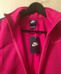 Спорт Nike, красное длинное платье с вырезом на спине
