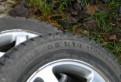 Шины для шкода октавия а5 бу, продам шипованные шины на литых дисках, Гатчина