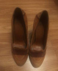 Женская итальянская обувь больших размеров, туфли Corso como, Песочный