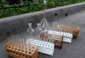 Пробирки стеклянные лабораторные, Горбунки