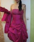 Длинное платье в мелкий горошек, платье праздничное, Советский