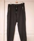 Трикотажные брюки Германия 52-54 р, вечернее платье лилового цвета