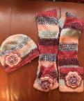 Комплект шапка, шарф, Каменногорск