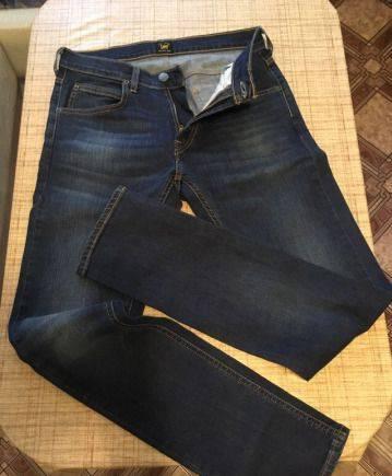 Мужской кожаный пуховик kapraun, джинсы LEE Luke