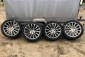 Литые диски киа соренто 2013, диски колесные R19 AMG, разноширокие на Mercedes, Всеволожск