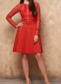 Выпускные платья 4 класс, новое красное платье с биркой, Волхов