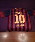 Футболка Barcelona Messi, мужской костюм прокат