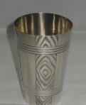 Стакан старинный. Серебро 84 пр. 19 век. №2897