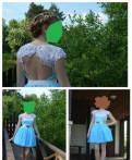 Продается платье, шуба из мутона модель летучая мышь, Гатчина