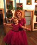 Продам два вечерних платья Family look, купить недорого вещи для беременных