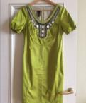 Зеленое платье, L, одежда акула каталог с ценами