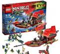 Lego Ninjago все наборы Все фигурки, Лебяжье