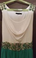 Платье с баской миди, вечернее платье, Кузьмоловский