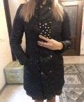 Modis платья на выпускной, пальто куртка стеганая фирма inciti осень -весна
