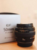 Объектив canon EF 50mm f/1. 4, Первомайское