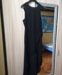 Платье белый верх цветной низ, платья, размер S