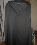 Плащ-накидка дождевик (военный), футболка thrasher black