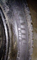 Зимние шины Michelin 225 55 18. Пара, грязевая резина на уаз патриот бу, Русско-Высоцкое