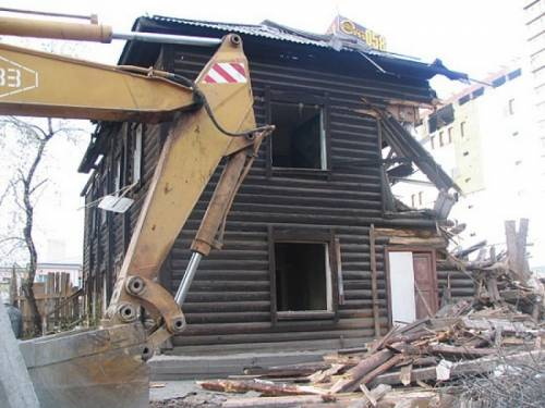 Демонтаж, строений, зданий, домов, дач, пристроек