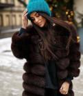 Шуба трансформер возможен торг песец 90см, продажа брендовой женской одежды больших размеров
