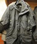Известные английские марки одежды, куртка Clique черная