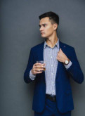 Мужской костюм, куртка мужская длинная спортивная