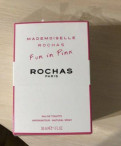 Rochas mademoiselle rochas FUN IN pink, Кингисепп