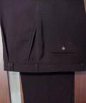 Известные марки итальянской одежды, брюки шелк черные новые