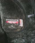 Куртка дубленка Пилот, футболка с принтом йода