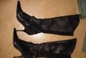 Кожаные сапоги-чулки, Doris, 38 размер, обувь женская полнота н купить, Бугры