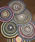 Половики круглые вязаные