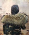 Парка в цвете милитари, купить бархатное платье молодых дизайнеров, Санкт-Петербург