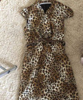 Верхняя одежда заказать, платье под леопарда, Санкт-Петербург