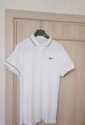 Мужское белое поло Nike, cacharel костюмы мужские цены