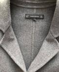 Пальто Zara, платье с кружевом на талии