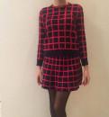 Костюм юбка + свитер, вечернее платье халат из кружева, Синявино