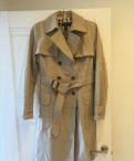 Фасоны платьев для широкоплечих, тренч Mango Suit размер 44-46 (М), Сосновый Бор