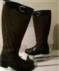 Туфли-лодочки с каблуком kitten heel, сапоги dkny