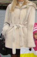 Зимняя одежда для женщин на вилдберис, шубка из норки и кролика, Романовка