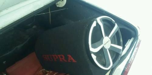 Сабвуфер supra, штатная магнитола kia sportage 2010