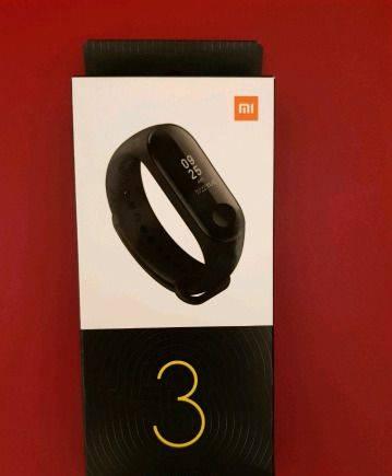 Xiaomi mi band 3 global-новый